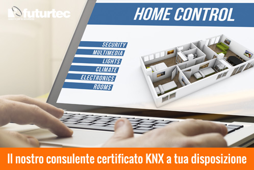Il nostro consulente certificato KNX a tua disposizione